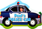 Paul's Police Car Shaped Vehicle Board Book