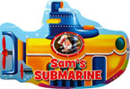 Sam's Submarine Shaped Vehicle Board Book