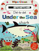 Dot-to-dot Under the Sea Wipe Clean Board Book with Practise Writing First Words