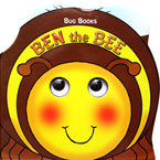Ben the Bee Moving Eyes Board Book