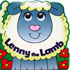 Lenny the Lamb Moving Eyes Board Book