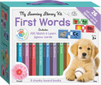 My Learning Library Kit First Words includes 8 Board Books and 26 ABC Match & Learn Jigsaw Cards