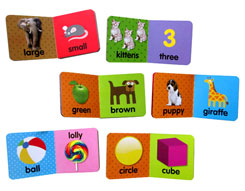 Baby's First Years FIRST LEARNING Box Set includes 6 Board Books and 6 Stacking Blocks