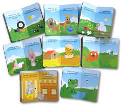 My First Library Baby Animals includes 8 Board Books