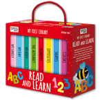 My First Library Read And Learn includes 8 Board Books