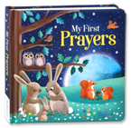 My First Prayers Board Book