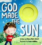 God Made the Sun Board Book with Peek-Through Holes