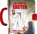 The Story of Easter Board Book with Handle