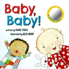 Baby, Baby! Board Book with a mirror (SALE!!)