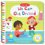 Big Steps - We Can Get Dressed Board Book (With Tips for Parents and carers)