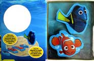 Disney Pixar Finding Dory Book & Blocks Includes 2 Block Puzzle Characters and a Playmat!