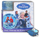 Disney Frozen Board Book With Story, Wind-Up Toy & Play-Track
