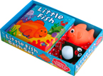Little Fish Bath Set (Includes a Storybook and 2 Bath Toys)