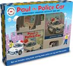 Paul the Police Car Emergency Vehicle Activity Box Set