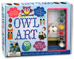 Owl Art Box Set - Hours of Fun with Cute Owl Art Projects