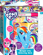 My Little Pony INKredibles Magic Ink Activity Set (Includes Invisible Ink Game Book, Magic Ink Game Book, Magic Ink Pen)