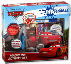 Disney Pixar Cars INKredibles Magic Ink Activity Set
