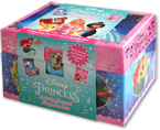 Disney Princess Activity Journal Keepsake Box with musical spinning Cinderella