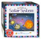 Learning Book & Jigsaw Solar System With 48-Piece Jigsaw & Mini Book of Mega Facts