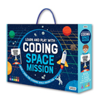 Learn And Play With Coding Space Mission Book + Game For Learning While Having Fun