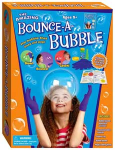 The Amazing Bounce-A-Bubble Kit and Science Book
