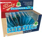 Slinky Flipbook Animation from Tadpole to Frog (Watch an incredible transformation from tiny tadpole to hopping frog!)