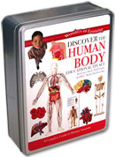 Discover the Human Body Wonders of Learning Educational Tin Box Set
