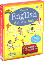 Usborne English Activity Pack - Contains 4 Book to Help You Learn English