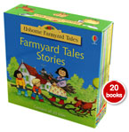 Usborne Farmyard Tales Children Collection 20 Classic Story Books Box Set