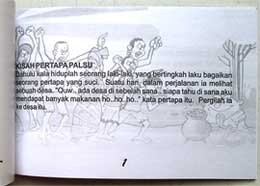 Buku Cerita Kisah Pertapa Palsu + 6 buah Finger Puppet (Buddhist Kidz Collection)