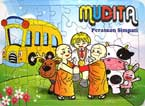Puzzle Board MUDITA (Perasaan Simpati) (Buddhist Kidz Collection)