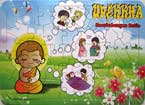 Puzzle Board UPEKKHA (Keseimbangan Batin) (Buddhist Kidz Collection)