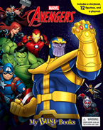 My Busy Book Marvel Avengers Infinity War includes a Storybook, 12 Toy Figurines and a Giant Playmat