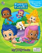 My Busy Book Bubble Guppies includes a Storybook, 12 Toy Figurines and a Playmat