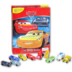 My Busy Book Disney Pixar Cars 3 includes a Storybook, 12 Toy Figurines and a Giant Playmat