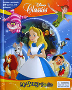 My Busy Books Disney Classics includes a Storybook, 12 Toy Figurines and a Giant Playmat