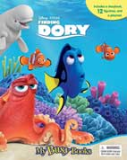 My Busy Book Disney Pixar Finding Dory includes a storybook, 12 figurines and a playmat