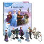 My Busy Book Disney Frozen II includes a Storybook, 10 Disney Figurines and a Giant Playmat