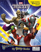 My Busy Book Marvel Guardians of the Galaxy includes a Storybook, 12 Toy Figurines and a Giant Playmat (SALE!!)