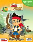 My Busy Book Jake and The Neverland Pirates includes a Storybook, 12 Disney Figurines and a Giant Playmat