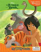 My Busy Book Disney the Jungle Book includes a storybook, 12 figurines and a playmat