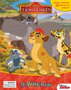 My Busy Book Disney the Lion Guard includes a storybook, 12 figurines and a playmat
