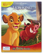 My Busy Book Disney The Lion King includes a Storybook, 10 Disney Figurines and a Giant Playmat