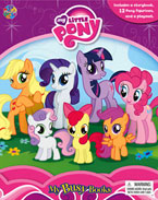 My Busy Book My Little Pony includes a Storybook, 12 Disney Figurines and a Giant Playmat