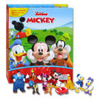 My Busy Book Mickey Mouse Clubhouse includes a Storybook, 12 Disney Figurines and a Giant Playmat