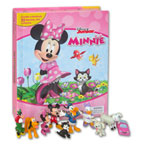 My Busy Book Disney Minnie Mouse includes a Storybook, 12 Disney Figurines and a Giant Playmat