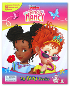 My Busy Book Disney Junior Fancy Nancy includes a Storybook, 10 Disney Figurines and a Giant Playmat