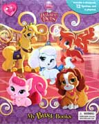 My Busy Book Disney Palace Pets includes a Storybook, 12 Disney Figurines and a Giant Playmat