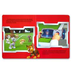 My Busy Book Paw Patrol includes a Storybook, 12 Toy Figurine