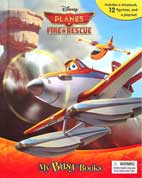 My Busy Book Disney Planes Fire & Rescue includes a Storybook, 12 Disney Figurines and a Giant Playmat